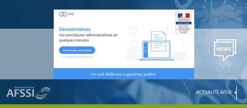 Nouvelle version de Téléprocédure Simplifiée (TPS), une Plateforme publique pour réaliser des démarches administratives 100% en ligne