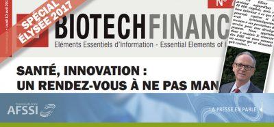 Biotech Finances spécial Elysée 2017- Mots de l'AFSSI