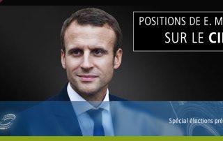 Présidentielle 2017 : E Macron et le CIR