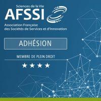 Adhésion AFSSI Membre de plein droit