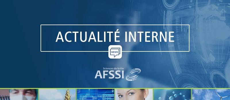 Actualité interne à l'AFSSI