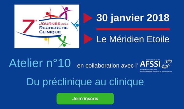 7e Journée de la Recherche Clinique - mardi 30 janvier 2018, Paris