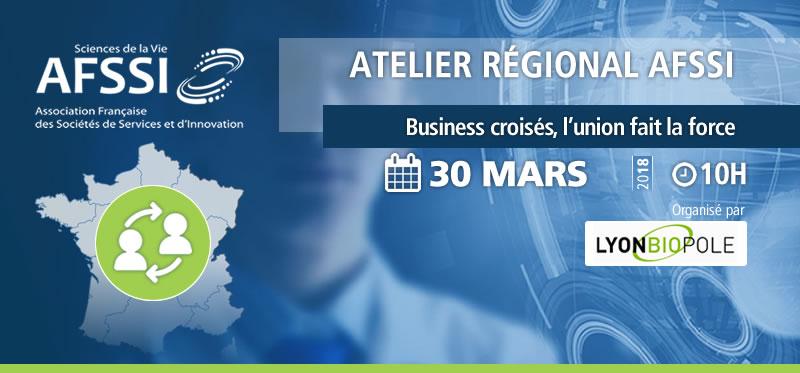 Atelier régional Lyonbiopôle - AFSSI - Business croisés, l'union fait la force !