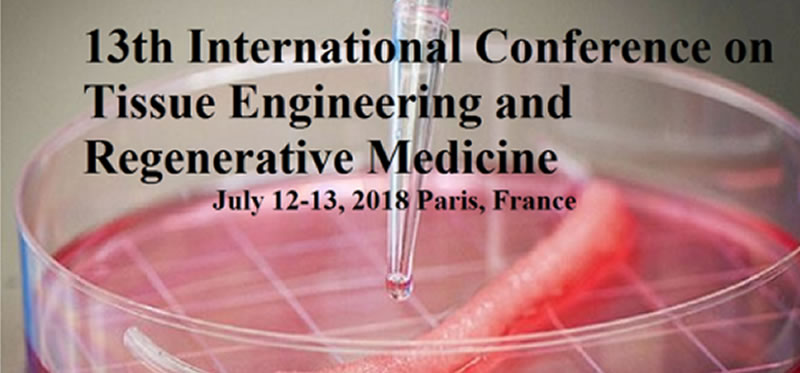 13th International Conference on Tissue Engineering and Regenerative