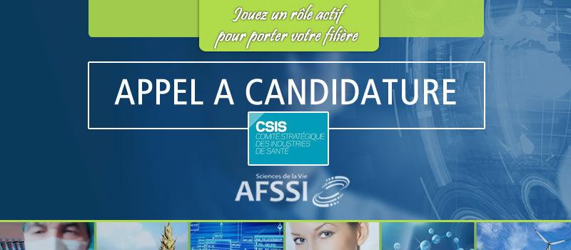 Appel à candidature - Représentez l'AFSSI auprès du Comité Stratégique de Filière (CSIS)