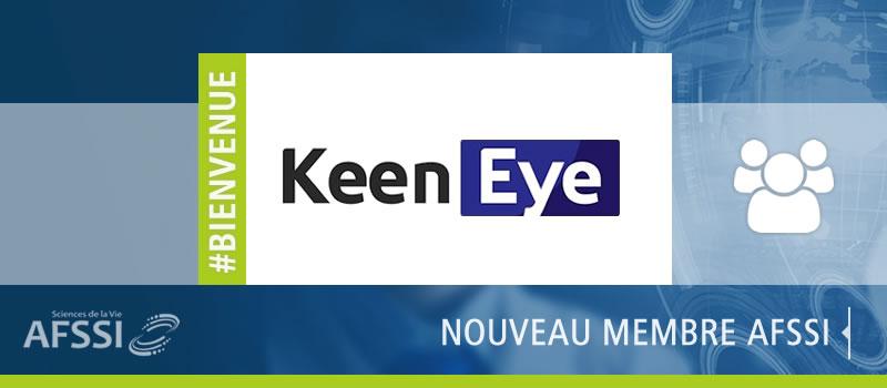 Keen Eye Technologies nouveau-membre AFSSI Sciences de la Vie