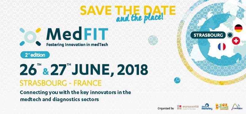 Medfit 2018 - 26 et 27 juin à Strasbourg