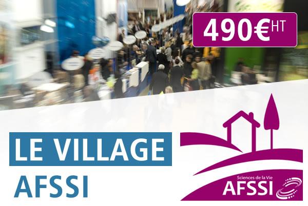 Affichez-vous sur le Village AFSSI !