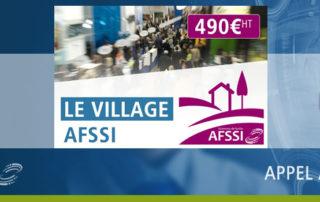 Village AFSSI sur les AFSSI Connexions 2018