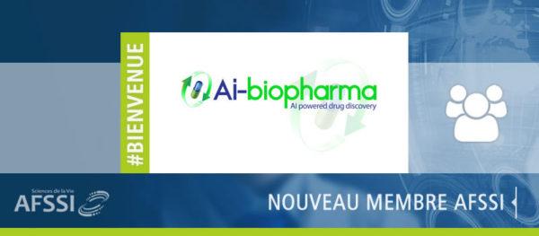 AI-Biopharma, nouveau membre AFSSI Sciences de la Vie