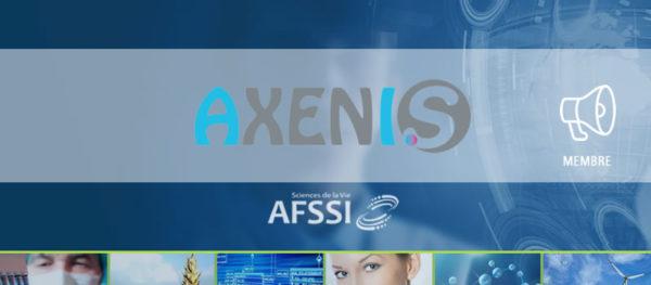 Actualité membre AFSSI - Axenis