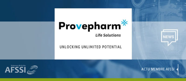 Actualité PROVEPHARM Life Solutions