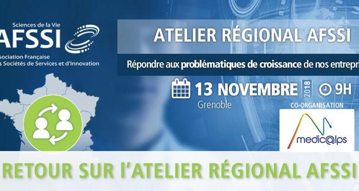 Atelier régional AFSSI / Medicalps : Répondre aux problématiques de croissance de nos entreprises