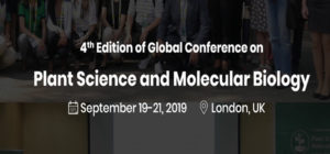 4nd Global Conference on Plant Science and Molecular Biology