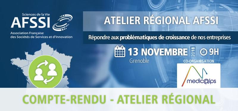Compte rendu Atelier Régional AFSSI MEDICALPS