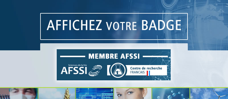 Badge membre AFSSI