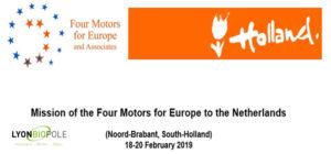 mission santé aux pays-bas avec les 4 moteurs pur l'Europe