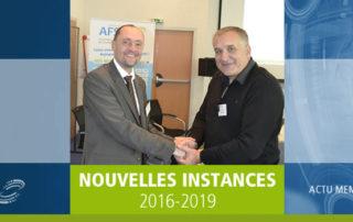 Election des nouvelles instances AFSSI 2016 - 2019