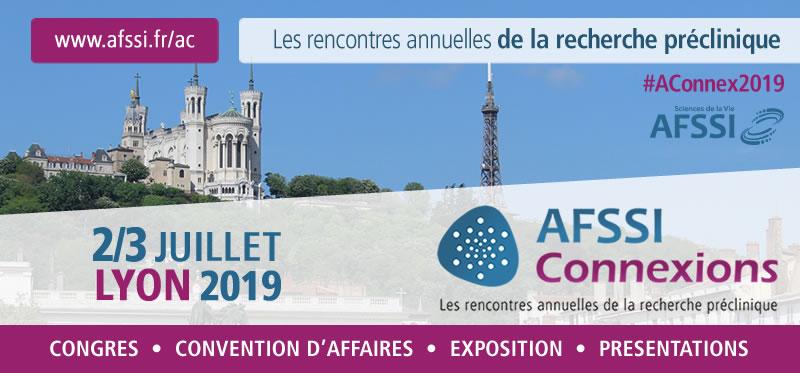 AFSSI Connexions 2019 - Les rencontres annuelles de la recherche préclinique