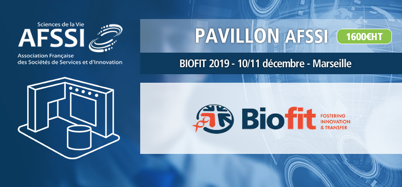 L'AFSSI partenaire de BIOFIT 2019 - découvrez notre pavillon