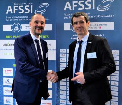 Xavier MORGE quitte la présidence de l'AFSSI au profit de Joël VACUS