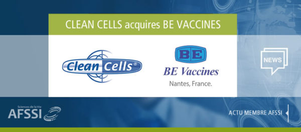 Clean Cells acquires BE Vaccines