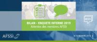 Bilan enquête interne AFSSI 2019