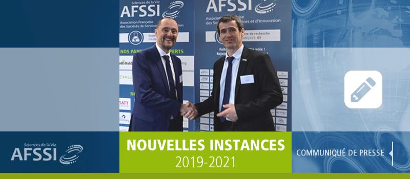 Nouvelles instances AFSSI 2019-2021 - Joel VACUS Président