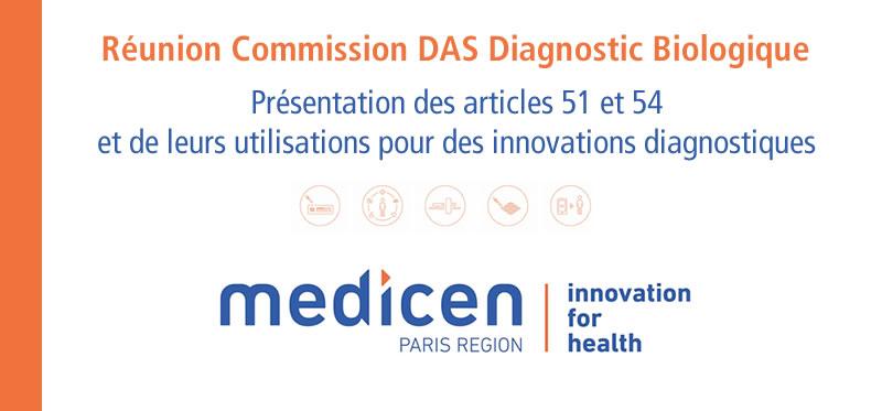 Medicen - Réunion Commission DAS Diagnostic Biologique