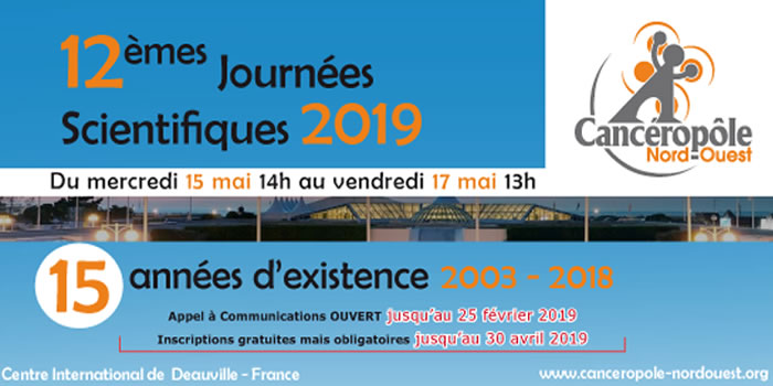 12e Journées scientifiques du CNO