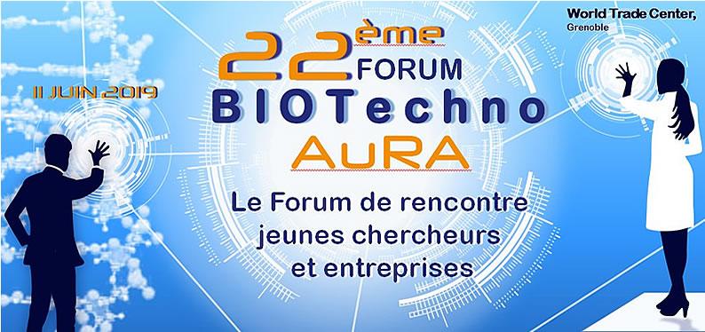 Forum BIOTECHNO Auvergne-Rhône-alpes 2019