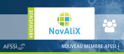NovAliX - Nouveau membre AFSSI Sciences de la Vie