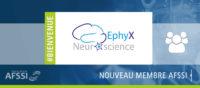 EphyX Neuroscience - Nouveau membre AFSSI Sciences de la Vie