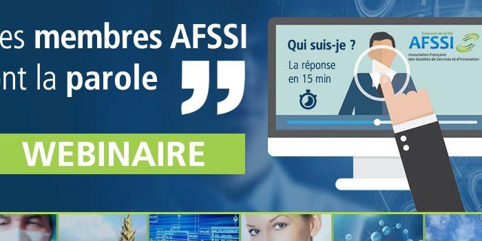 Webinaire AFSSI - Les membres AFSSI ont la parole