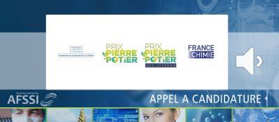 Appel à Candidatures pour le Prix Pierre Potier 2021