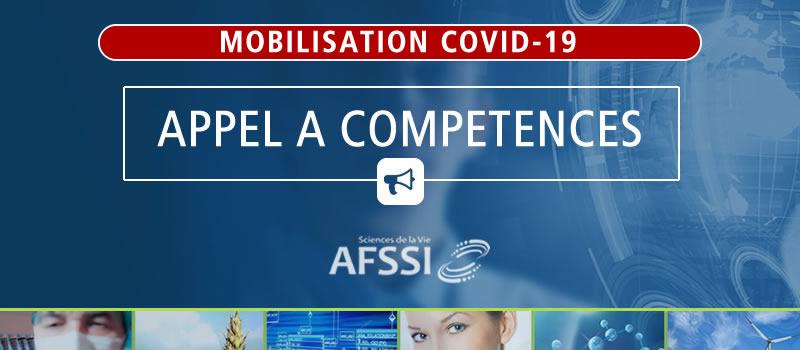 Appel Compétences AFSSI - Spécial COVID-19