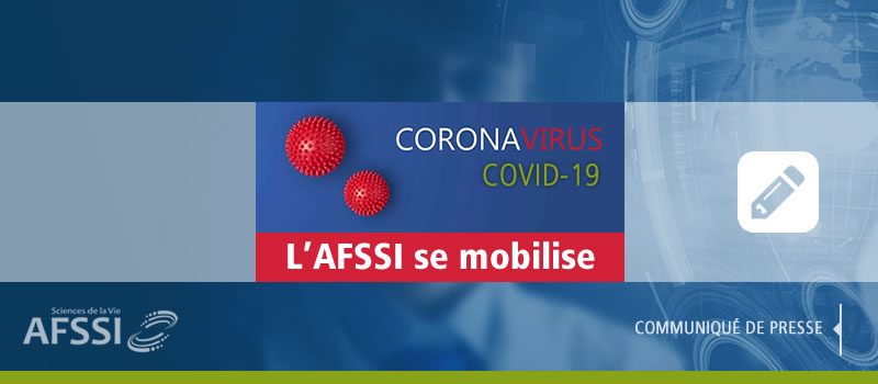 COVID-19 - l'AFSSI se mobilise pour soutenir l'effort national