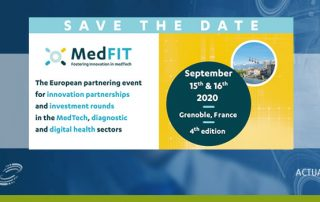 Convention d'affaires MedFIT - 15 et 16 septembre 2020 | Grenoble (France)