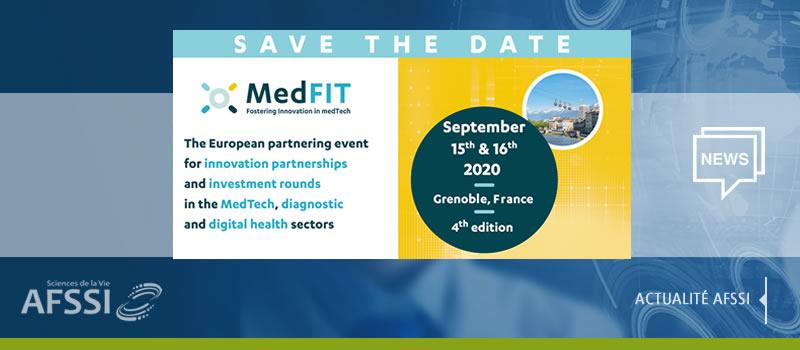 Convention d'affaires MedFIT - 15 et 16 septembre 2020 | Grenoble (France)