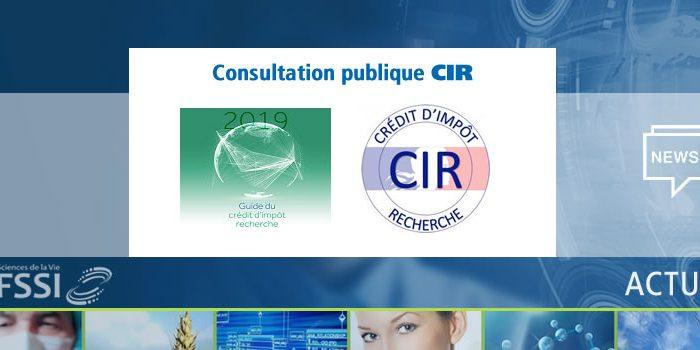 Consultation publique CIR 2020