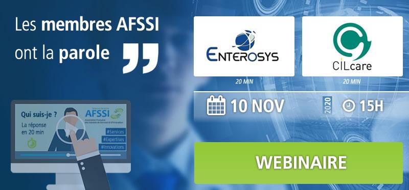 Webinaire – Les membres AFSSI ont la parole : ENTEROSYS