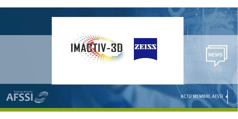 Actualité membres AFSSI - Carl Zeiss S.A.S. et Imactiv-3D annoncent la signature d'un partenariat stratégique