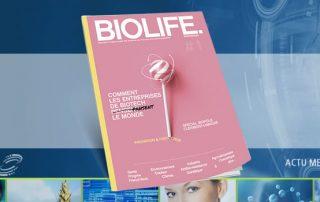 Actu AFSSI - Numéro BIOLIFE entreprise focus Biopôle Clermont-Limagne